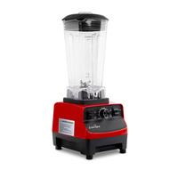 2-in-1 Food Processor & Blender 2L - Red