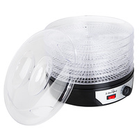 5 Trays Food Dehydrator Black
