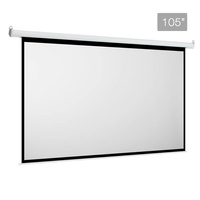 Electric Projector Screen - 266 cm