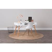 Eames Replica Study Desk - White