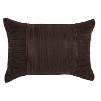 Tuxedo Chocolate Oblong Cushion by Kas