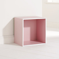 Storage Cube in Pink