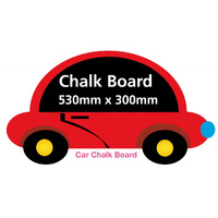 Boys Car Chalkboard - Totally Movable and Reusable