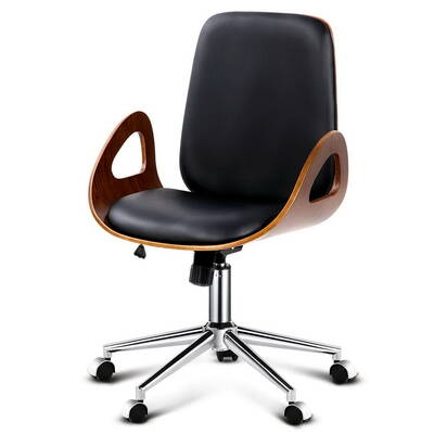 home furniture office executive walnut office chair