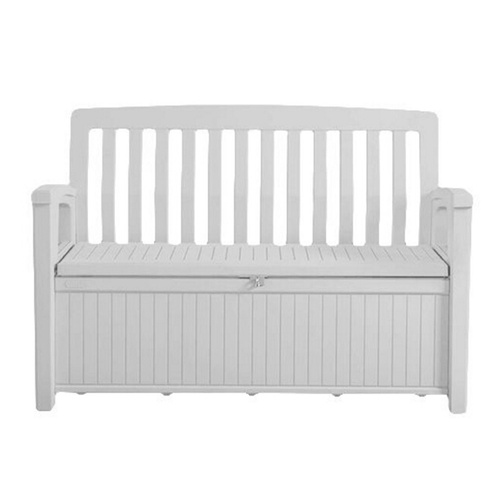 Keter Patio Storage Bench White Afterpay Zippay