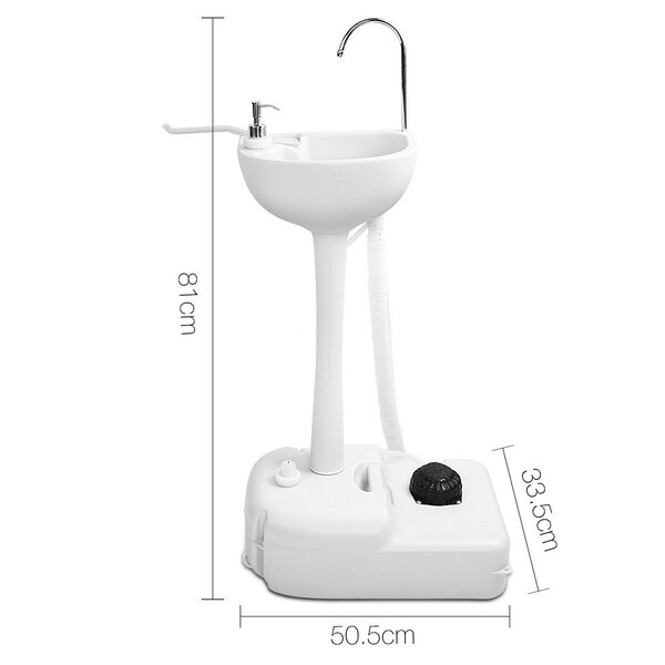 Weisshorn Portable Camping Wash Basin 19l Afterpay Shops