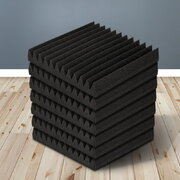 Set of 60 12 Tooth Acoustic Foam - Black