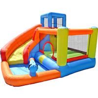 Mega Jump and Bounce Water Slide with Spray Gun H210 x W320 x L340cm