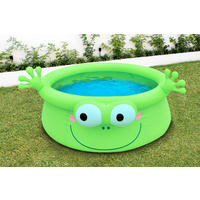 Green Frog Inflatable Pool 175 x 62cm