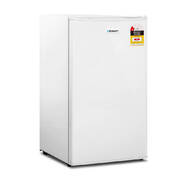 Glacio 95L Portable Bar Fridge - White