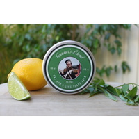 Gunners Blend Bay Rum and Lime Beard Balm 100% Natural and Organic Australian Made