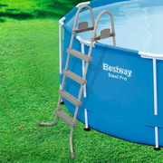 Bestway Above Ground Pool Ladder with Removable Steps