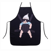 Cartoon Comic Kitchen Cooking Apron (Baby) Cotton