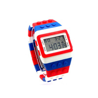 Cool Classic Lego Inspired Retro Digital Watch