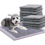 100 Pcs 60x60cm Charcoal Pet Puppy Dog Toilet Training Pads Ultra Absorbent