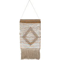 Bihu Cotton Jute Wall Hanging Hand Knit 40X53Cm