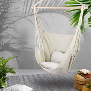 Gardeon Hammock Chair - Cream