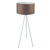 Floor Lamp Steel Silk Queena Coffee 50 x 135cm