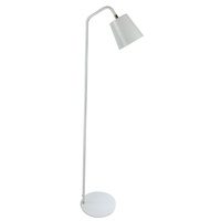 Luminite Scando Floor Table Lamp White 28.7 x 26 x 138.5cm