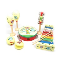RED&BLUE OWL 7PCS MUSICAL SET