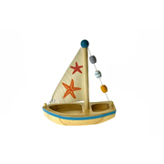 Calm & Breezy Wooden Sailboat Star Fish