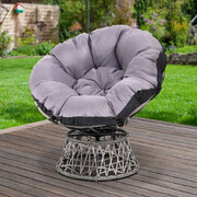 Papasan Chair - Grey