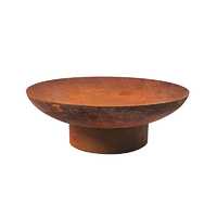 Rustic Fire Pit 70cm Diameter and 2mm Thickness
