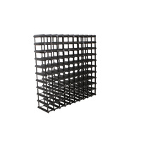 Black iron chimnea w/cage fire fit 53.5 x 53.5 x 152.5cm
