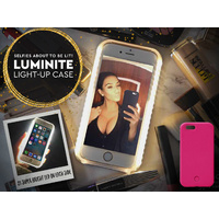 Luminite LED Light Up Selfie Case Hot Pink iPhone 6/6s