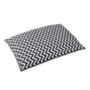 i.Pet Extra Large Canvas Pet Bed - Black & White