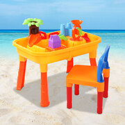 Kids Table & Chair Sandpit Set