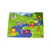 2 IN 1 SAFARI ANIMAL PEG PUZZLE