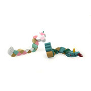 PRICE FOR ONE WOODEN JOINTED DRAGON UNICORN RANDOMLY PICK