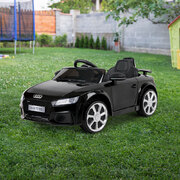 Kid's Electric Ride on Car Licensed Audi TT RS - Black