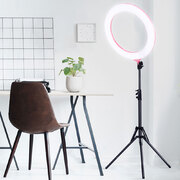 "Embellir 19"""" 5500K LED Ring Light With Stand Dimmable Diva For Phone Camera DSLR"