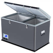Spector 125L Portable Fridge Freezer Cooler High Capacity Camping  Refrigerator