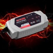Smart Battery Charger 15A 12V 24V Automatic SLA AGM Car Truck Boat Motorcycle Caravan