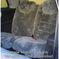 REAR (OR MIDDLE ROW) PREMIUM AUSTRALIAN MADE SHEEPSKIN SEAT COVERS SUIT MOST VEHICLES