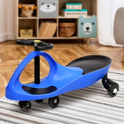 Kids Ride On Swing Car - Blue