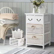 Storage Cabinet Dresser Chest of Drawers Bedside Table Bathroom Lamp Side
