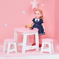 Olivia's Little World - Little Princess 45cm  Doll Furniture - Outdoor Table & 2 Chairs Set