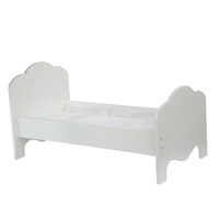 Olivia's Little World - Little Princess 45cm Doll Furniture - Classic Single Bed