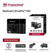 Transcend DrivePro 550 Protection both inside and out with 32G