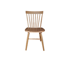 Set of 2 Dining Chairs  Ari Solid Oak Spindle back Chairs