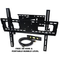 "30-60"" Plasma LED LCD Screen TV Wall Mount with 180-degree Swivel"