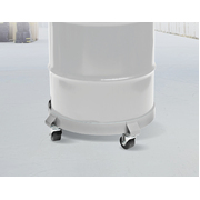 Drum Dolly 450kg 55 Gallon w Swivel Casters Heavy Duty Steel Frame Non Tipping