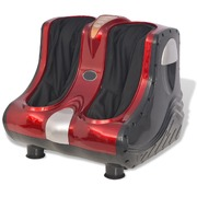 Shiatsu Foot and Calf Massager Red