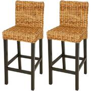 Bar Stools 2 pcs Abaca