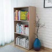 Bookshelf Chipboard 60x31x116.5 cm Oak
