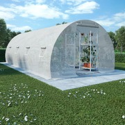 Greenhouse with Steel Foundation 18m? 600x300x200 cm